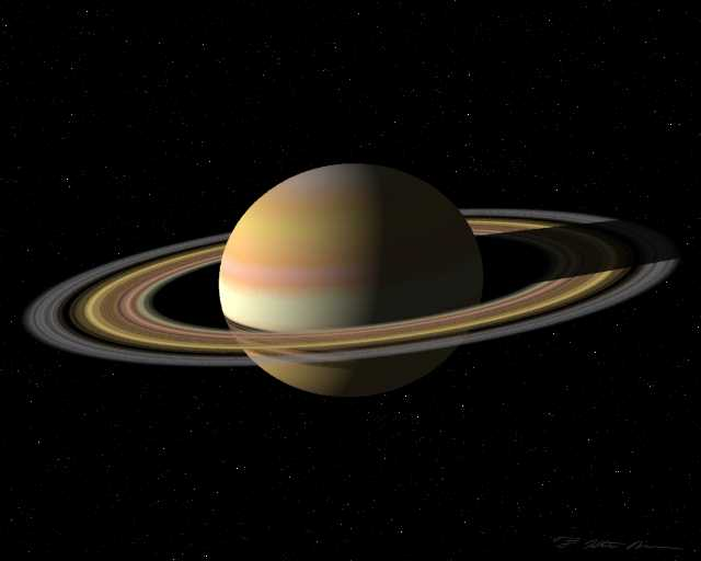 planet saturn rings - photo #13